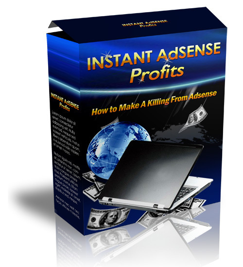 Product picture Instant Adsense Profits With MRR
