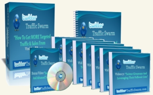 Product picture Twitter Traffic Swarm With MRR